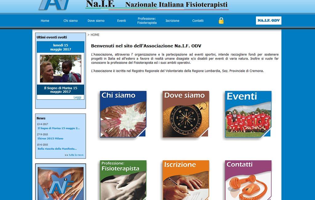Primo sito Naif